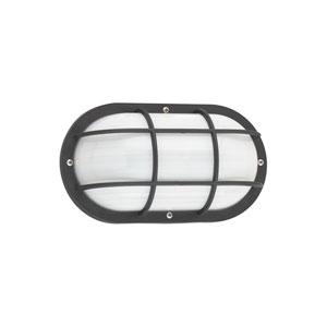 Austin Black 10-Inch One-Light Outdoor Wall Lantern