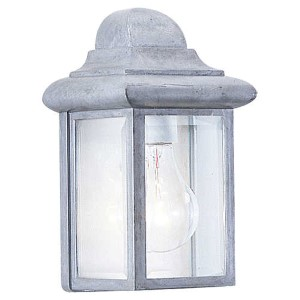 Eloise Pewter One-Light Outdoor Wall Lantern