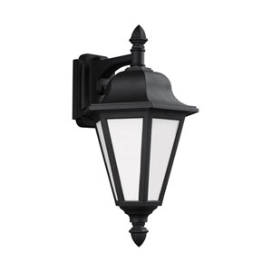 Wellington Black Energy Star 18-Inch LED Outdoor Wall Lantern