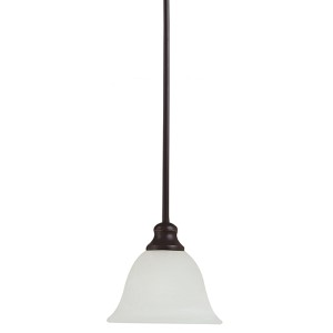 Webster Bronze One-Light Mini-Pendant