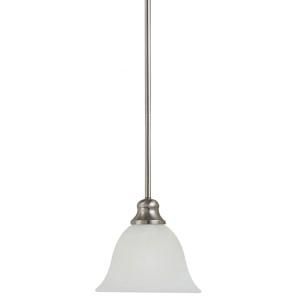 Webster Brushed Nickel One-Light Mini-Pendant