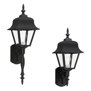 Olivia Black Outdoor Wall Mount