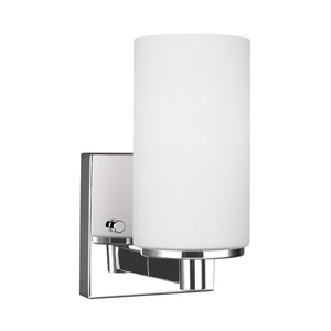 Artemis Chrome 4.5-Inch One-Light Bath Light