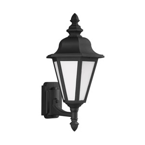 Wellington Black Energy Star 20-Inch LED Outdoor Wall Lantern