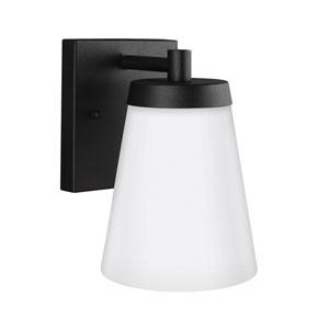 Madison Black 5-Inch One-Light Outdoor Wall Lantern