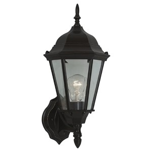 George Bronze 17-Inch High One-Light Outdoor Wall Lantern