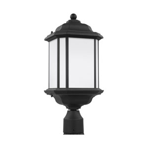 Preston Black 8.5-Inch One-Light Outdoor Post Mount