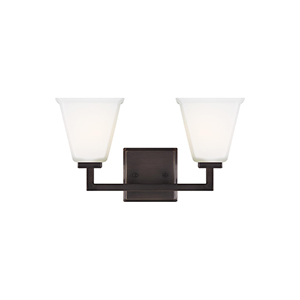Aster Brushed Oil Rubbed Bronze Two-Light Wall Sconce