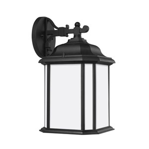 Preston Black Energy Star Nine-Inch LED Outdoor Wall Lantern