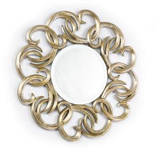 Linden Gold Wall Mirror