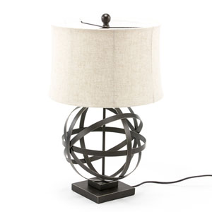 Fulton Bronze Globe Table Lamp