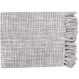 Afton Gray Throw