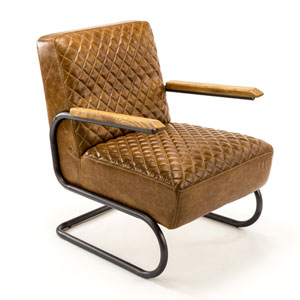 Fulton Aged Metal Chair