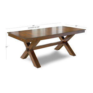 Whittier Dark Cherry Trestle Dining Table
