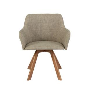 Nicollet Walnut Arm Chair