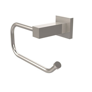 Uptown Satin Nickel Euro Style Toilet Tissue Holder