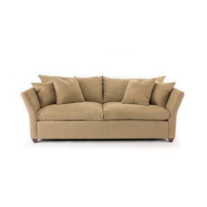 Fulton Brown Herringbone Sofa