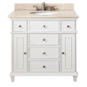 Selby White 36 Inch Vanity