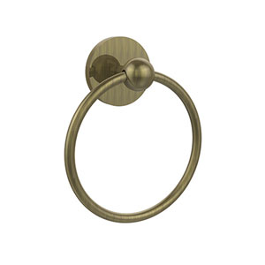 Selby Antique Brass Towel Ring