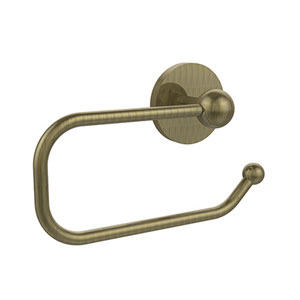 Afton Antique Brass Euro-Style Toilet Paper Holder