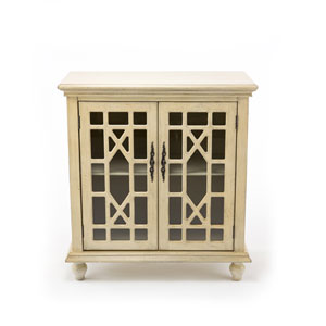 Whittier Ivory Two Door Cabinet