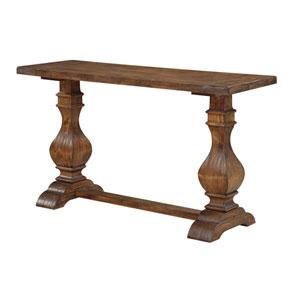 Afton Brown Sofa Table