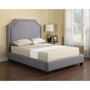 Linden Queen Upholstered Bed Grey