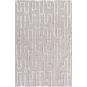 Loring Taupe and Gray Rectangular: 2 Ft. x 3 Ft. Rug