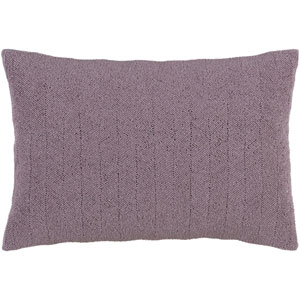 Nicollet Mauve 13 x 20-Inch Pillow with Poly Fill