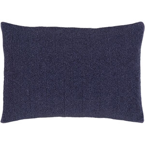 Nicollet Violet 13 x 20-Inch Pillow with Poly Fill