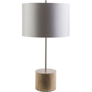 Loring Natural Wood Table Lamp