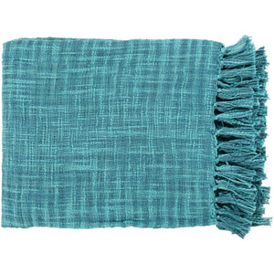 Afton Teal Throw