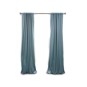 Selby Teal 96 x 50-Inch Blackout Curtain Panel Pair Panel Pair