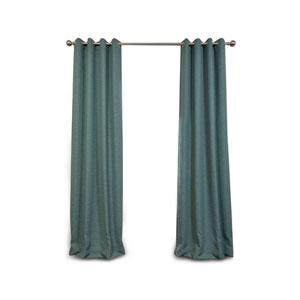 Uptown Jade 120 x 50-Inch Grommet Blackout Curtain Single Panel