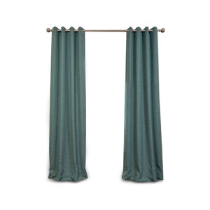 Uptown Jade 84 x 50-Inch Grommet Blackout Curtain Single Panel