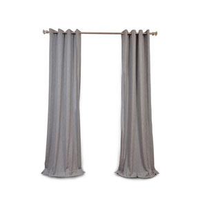 Nicollet Gray 84 x 50-Inch Grommet Curtain Single Panel