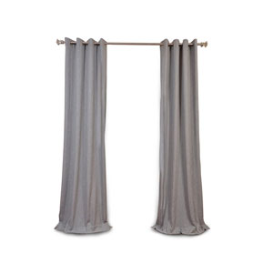 Nicollet Gray 96 x 50-Inch Grommet Curtain Single Panel