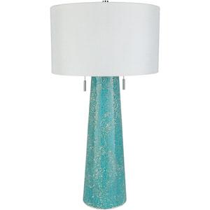 Loring Blue Portable Lamp