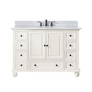 Grace French White 49-Inch Vanity Combo
