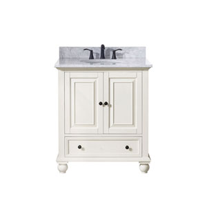 Grace French White 31-Inch Vanity Combo