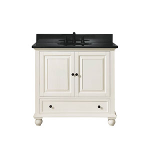 Grace French White 37-Inch Vanity Combo