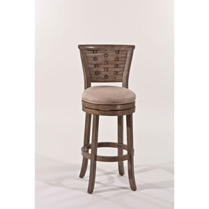 Hayden Light Antique Graywash Counter Stool