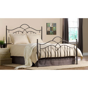 Grace Bronze Queen Complete Bed