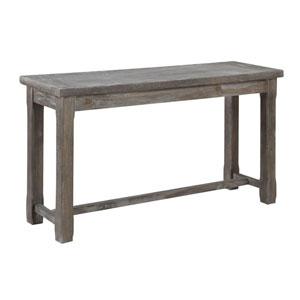 Hayden Rustic Charcoal Sofa Table