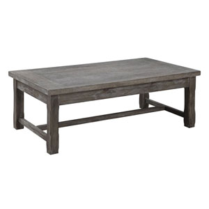 Hayden Rustic Charcoal Cocktail Table
