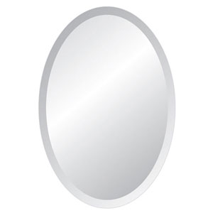 Grace 24 x 36 Oval Beveled Edge Mirror
