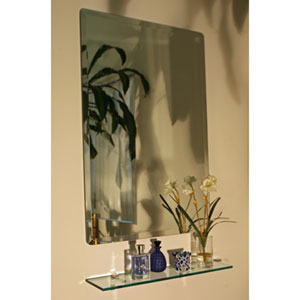 Afton 20 x 30 Rectangular Beveled Edge Mirror