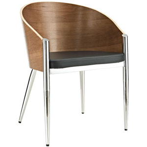 Uptown Dining Chair in Silver