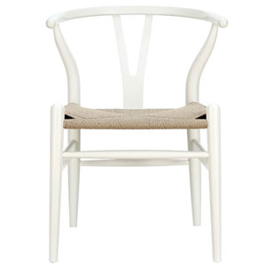 Nicollet Dining Chair in White