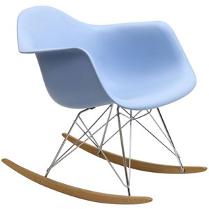 Uptown Rocking Chair in Blue
